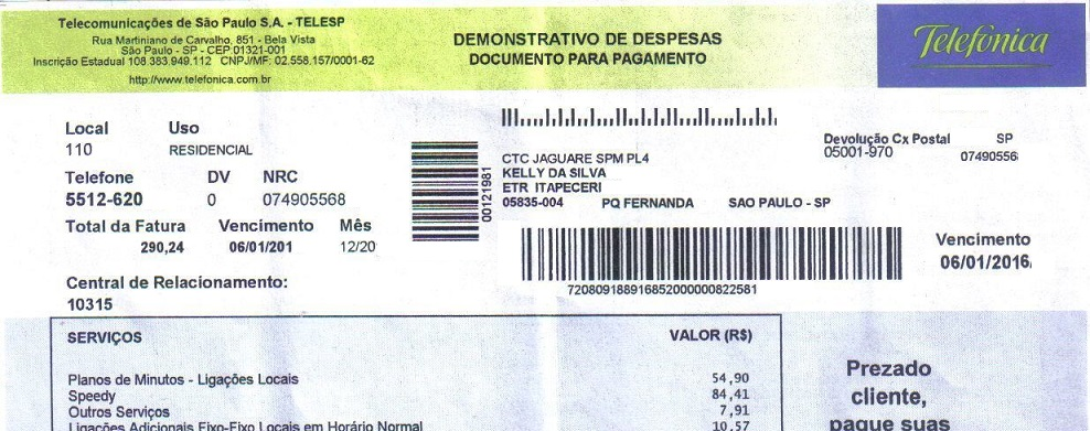 Comprobante De Residencia En Brasil ESPAOLES EN BRASIL